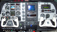 Beech A36 Bonanza panel upgrade