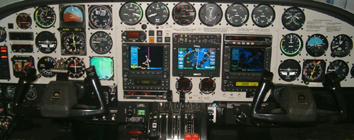 C-414 Avionics Panel Upgrade